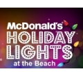 Holiday Lights at the Beach