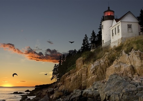 Bass Harbor Lighthouse - Maine